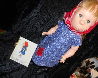 POOR PITIFUL PEARL a Vintage Horsman Doll 17 inch