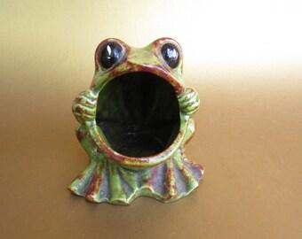 Big Mouth Frog Etsy
