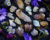 Custom Spirit Quartz Mix - Reserved for Cosmic Moonflower - Pink Spirit Quartz Cactus Quartz Fairy Quartz - Angel Aura Spirit Quartz