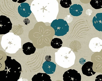 Tidal Wave ALN 7551-N Tide Linen Cotton Quilting Sewing Crafting Fabric  Andover Jane Dixon Material 1/2 yard cut