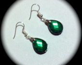 Simple Dainty Green  Long Dangle Fashion Earrings for Every Day Wear boho gypsy native  gift spring summer southwestern