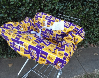 LSU  baby shopping cart cover/ high chair cover