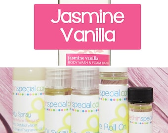 Jasmine Musk Perfume, Perfume Spray, Body Spray, Perfume Roll On, Perfume Sample Oil, Dry Oil Spray, Jasmine Vanilla, You Choose the Product