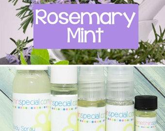 Rosemary Mint Perfume, Perfume Spray, Body Spray, Perfume Roll On, Mint Rosemary, Perfume Sample Oil, Dry Oil Spray, You Choose the Product