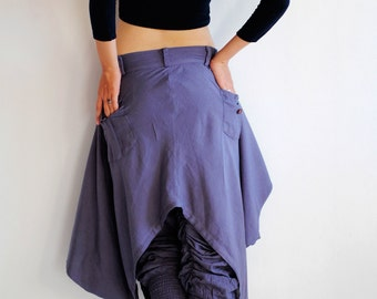 Hanna funky Skirt over pants...No.19 mix silk( GP-355)
