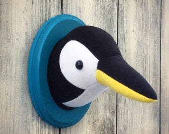 Penguin Faux Taxidermy Home Décor