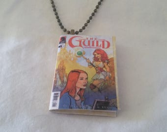 Mini The Guild Comic Book Pendant