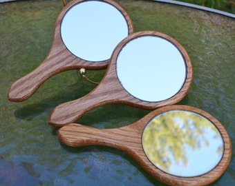 Vintage Handmade Hand Mirror
