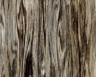 Woodgrain Fabric - Beached Drift Wood Woodgrain By Joanmclemore - Woodgrain Home Decor Cotton Fabric By The Yard With Spoonflower