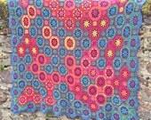Zodiac Crochet Afghan/Blanket  - PDF CROCHET PATTERN