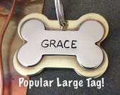 Dog ID Tags | Custom Large Dog Tags | Dog Tags | Dog Tags for Dogs | Dog Name Tags | Big Dog Tags | Dog Tags for Big Dogs | Dog Collar Tags