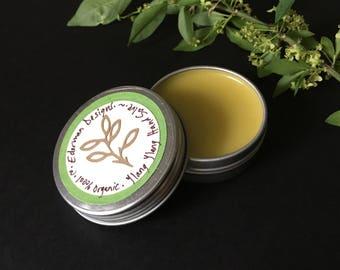 Organic Soft Hand Salve in Tea Tree, Ylang Ylang, Sweet Orange, Lavender, Lemon, Bergamot