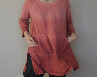 STOCK Hemp Organic Cotton Lightweight Jersey Ombre' Tunic