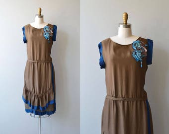 Little Dramatist dress | antique 1920s dress | vintage 20s dress
