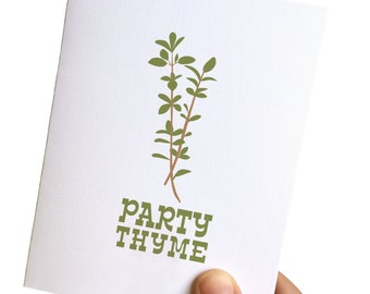 birthday cards funny // party thyme // birthday card funny // funny birthday card // birthday card for her // bday card funny