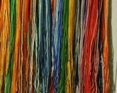 Huge Stash Embroidery Crewel Needlepoint Wool - 2 lbs 4 oz - Rainbow of Colors!