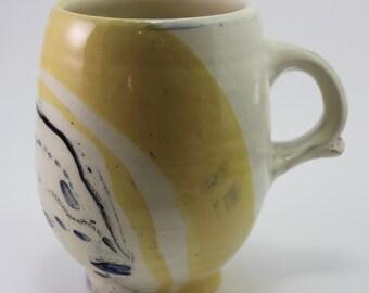 Yellow Earthenware Mug
