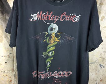 Motley Crue, Dr. Feelgood T-Shirt, Mended
