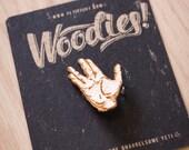 Live Long & Prosper - Laser Etched Wooden Pin
