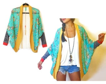 Sweet Silk Cocoon Kimono