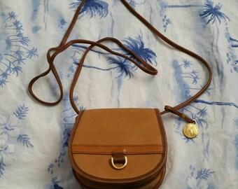 Vintage Anne Klein II leather cross body bag