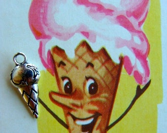 ONSALE Sweet Kitsch Ice Cream Very Detailed Charms Stampings
