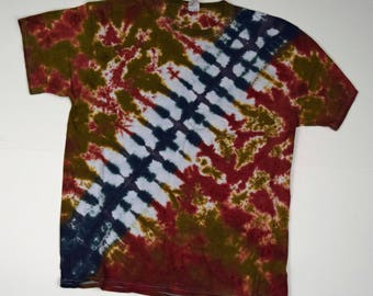 Chewie Bandolier #4 ~ Tie Dye T-Shirt (Fruit of the Loom Heavy HD Size XL) (One of a Kind)