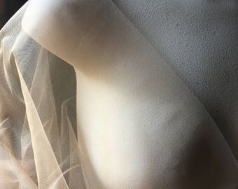 Nude STRETCH ILLUSION for Bridal, Skating, Ballroom or Lyrical Costumes, Lingerie