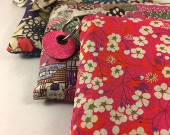 Liberty print purses