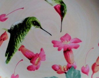 lenox Hummingbird Plate, Summer greetings,