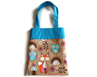 Small Animal Gift Bag - Goodie Bag - Mini Tote