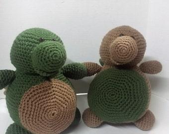Stegosaurus/Crochet Dinosaur/Amigurumi/Plush Dinosaur/Plush Stegosaurus/Stuffed Dinosaur/Stuffed Animal/Stuffed Stegosaurus/Child's Toy/Toy