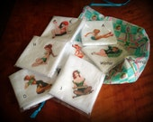 "11"" Multi-Pack Hankies - Pinup or Celtic - in a gift bag"