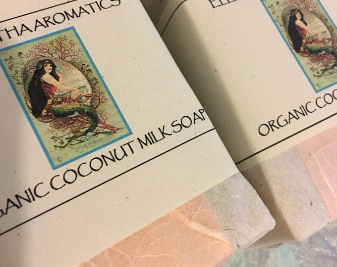 Organic Coconut Milk and Shea Butter Soap