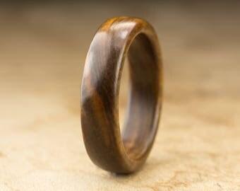Size 10.25 - Guayacan Wood Ring No. 423