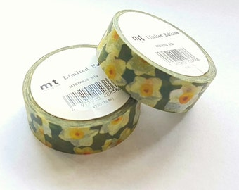 mt Limited Edition washi masking tape - Daffodil