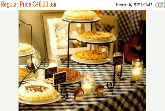 Holiday SALE- The Original Mini Chalkboard Table Stands - As Seen in BRIDES Magazine - Wedding Chalkboards, Buffet Labels - 12
