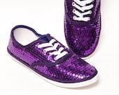 Sequin - CVO Grape Purple Canvas Sneaker Tennis Shoes