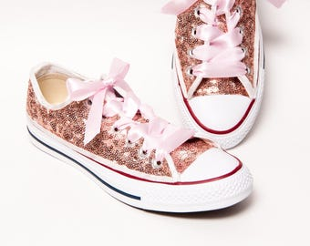 converse with rose gold