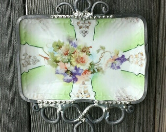 Antique Pin Tray Wind Chime
