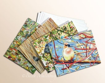 Blank Notecards bird art cards note card nature fine art wildlife