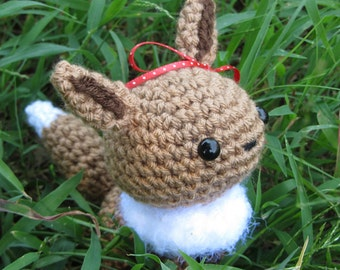 READY TO SHIP - Chibi Pokemon Amigurumi - Eevee. Eeveelution. Pokemon Plush. Eevee Plush. Nintendo. Cosplay. Anime. Gift. Gaming Crochet.