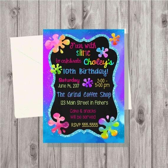 Digital Teen Tween Girl Rainbow Unicorn Slime Making Craft
