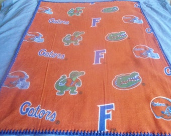 Florida Gators baby blanket 36 x 30