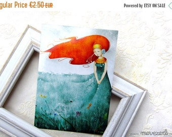 Spring cleaning sale The ocean dress (Ino) - Postcard