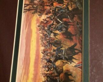 Reduced - Civil War Print, Battle for the Shenandoah, Mort Kunstler GK#30