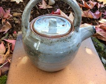 Small Teapot, Shino
