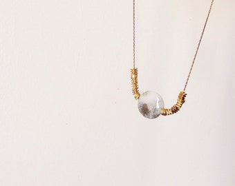"""SALE! - orb of night necklace - """"c"""""""