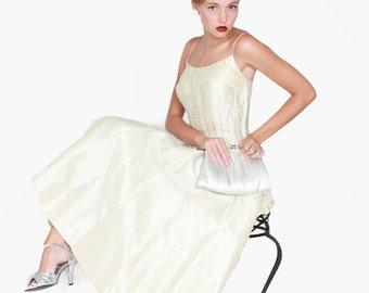 1950s Wedding Dress Free Shipping