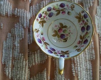 golden bramble tea cup royal Stafford England
